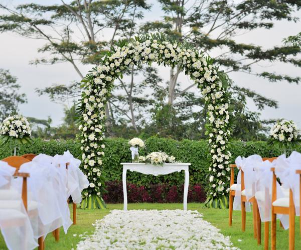 Slider for wedding