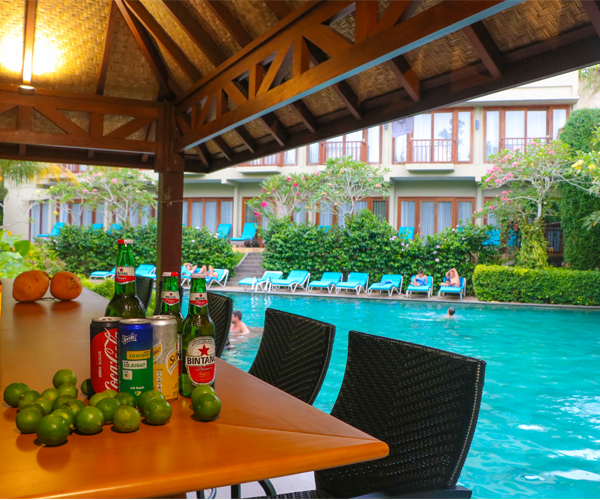 Pool Bar Ubud Wana Resort